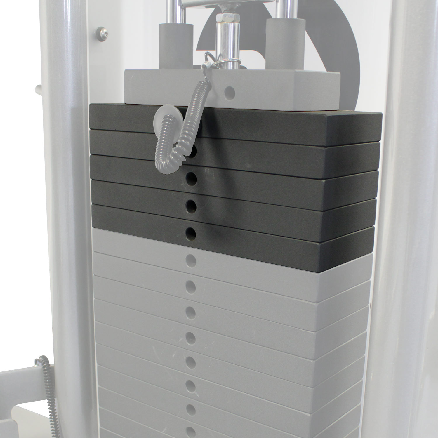 Image of Life Fitness 50lb Weight Stack Upgrade (Fits G2 or G4)