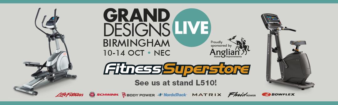 Fitness Superstore at Grand Designs Live Birmingham 2018