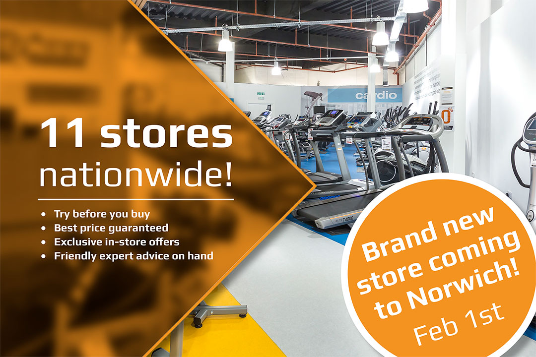 Fitness Superstore is coming to Norwich!