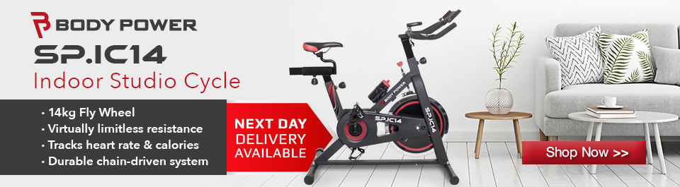 Category - Exercise Bikes - BodyPower Spin