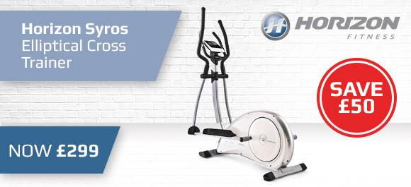 Brand - Horizon Fitness - Elliptical Banner