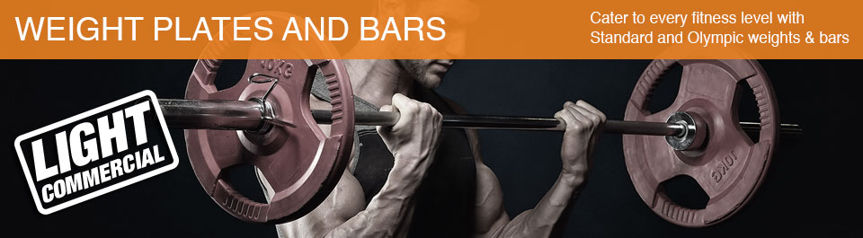 Light Commercial Strength Weight Plates and Bars - Generic