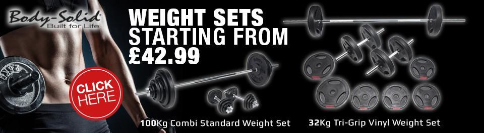 Gym Equipment - Standard Weight Sets