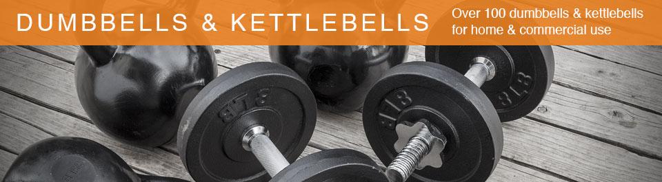 Gym Equipment Dumbbells & Kettlebells - Generic