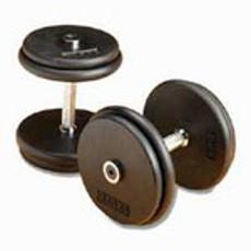 Pro-Style Iron Dumbbells