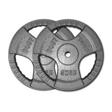 Standard Tri-Grip  Iron Weight Plates
