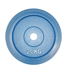 Coloured Rubber Bumper Olympic Plates