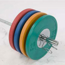 Olympic Rubber & Chrome Weight Sets