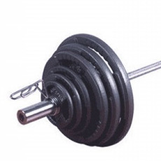 Olympic Tri Grip Iron Weight Sets