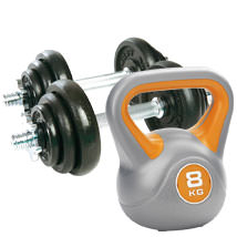 Dumbbells And Kettlebells