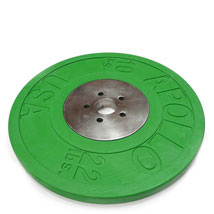 Rubber & Chrome Olympic Weight Plates
