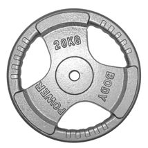 Standard Tri-Grip  Iron Weight Plates