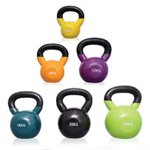 Vinyl Covered Iron Kettlebells