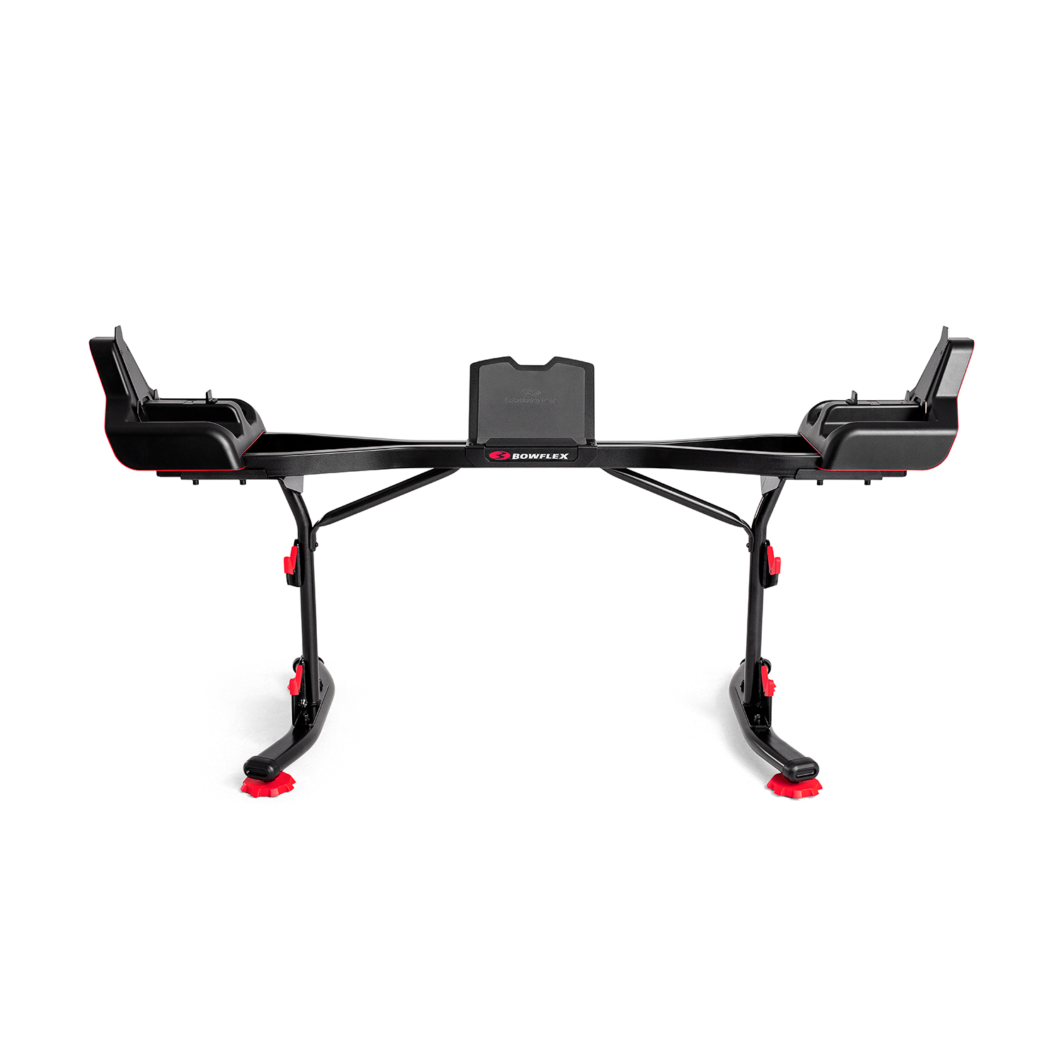 bowflex stand for selecttech barbell and curl bar with media rack