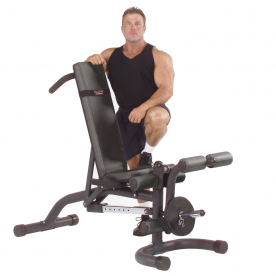 Body-Solid Flat/Incline/Decline Bench (with leg developer)