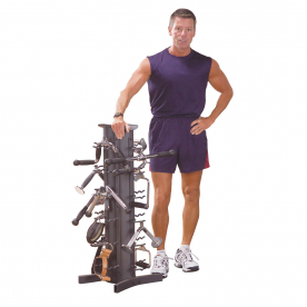 Body-Solid Accessory Stand/Vertical Storage Rack