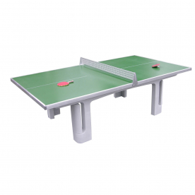 Butterfly Park Concrete Table 45SQ Green