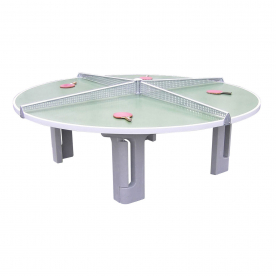 Butterfly R2000 Concrete Round Table Tennis Table Green