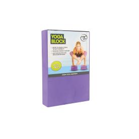 Yoga-Mad Yoga Block (Purple) 30 x 20 x 5cm