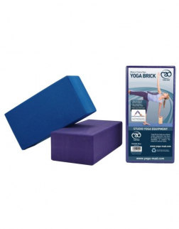 Yoga-Mad Hi Density Yoga Brick (Blue)