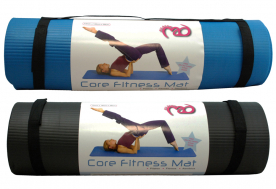 Pilates-MAD Core Fitness Mat (Black)