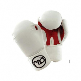 Boxing-Mad Womens Fit Synthetic Leather Sparring Gloves 8oz