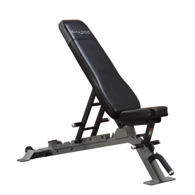Body-Solid Pro Club Line Full Commercial Flat/Incline/Decline Utility Bench