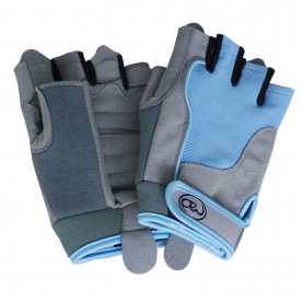 Fitness-MAD Womens Cross Training Gloves Blue (Small)