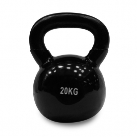 Body Power 20kg Vinyl Coated Kettlebell (x1)