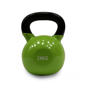 Body Power 24kg Vinyl Coated Kettlebell (x1)