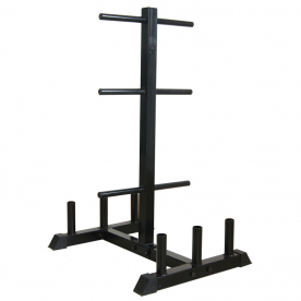 Body Power Standard Bar/Weight Rack