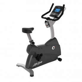 Life Fitness C1 Upright Cycle with Go Console - Northampton Ex-Display Model (Click and Collect Only)