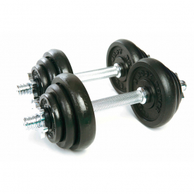 Body Power 20Kg Spinlock Dumbbell Weight Set