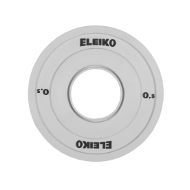 Eleiko 0.5Kg Olympic WL Competition Disc/Plate (x1)