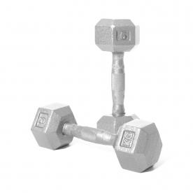 Body Power 5Kg Hex Dumbbell (x2)