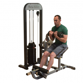 Body-Solid Pro-Select Ab/Back Machine 210lbs