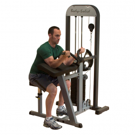 Body-Solid Pro-Select Bicep/Tricep Machine with 210lbs Weight Stack