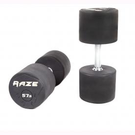 Raze 1x Single 60.0kg Premium Rubber Dumbbell (Last 1)