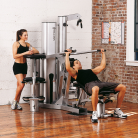 Vectra On-Line 1650 Gym, Accessory Bar Kit & Accessory Rack - Manchester Ex-Display Model (Collection Only)