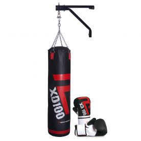 Body Power Boxing Starter Kit (with Large Boxing Gloves)