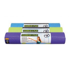 Yoga-Mad Warrior II 6mm Yoga Mat Plus (choose from 3 colours)