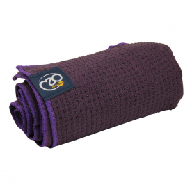 Aubergine Grip Dot Towel