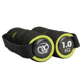 Pro Hand Weights With Strap 1.0kg x