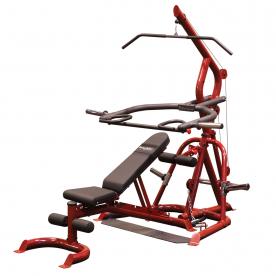 Body-Solid Corner Leverage Gym & Flat Incline Decline Bench