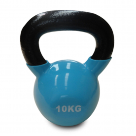 Body Power 10Kg Vinyl Coated Kettlebell (x1)