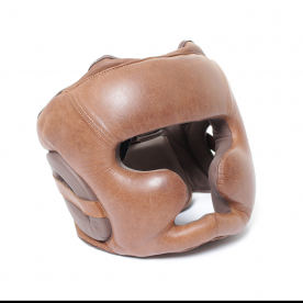 Body Power Vintage Cheek & Chin Protection Headguard Small