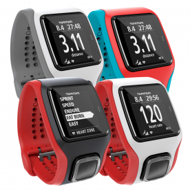TomTom Runner Cardio Watch with Heart Rate (Choose from 4 colours)