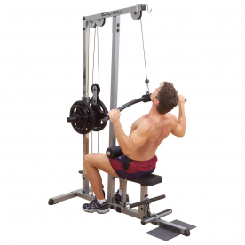 Body-Solid Pro-Lat Machine (Plate Loading) - Northampton Ex-Display Model (Collection Only)