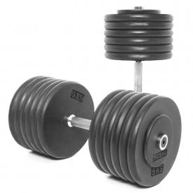 Body Power 62.5Kg Pro-style Dumbbells (x2)