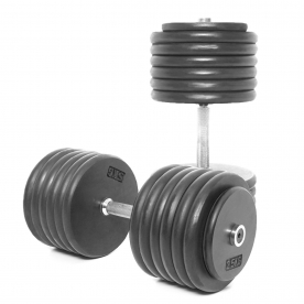 Body Power 65Kg Pro-style Dumbbells (x2)